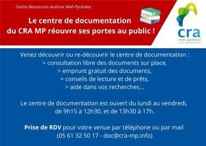 Réouverture au public du centre de documentation