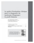 Le guide d'évaluation clinique pour le diagnostic du syndrome d'Asperger : le profil féminin